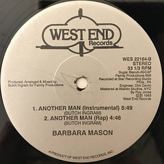 BARBARA MASON:ANOTHER MAN(LABEL SIDE-B)