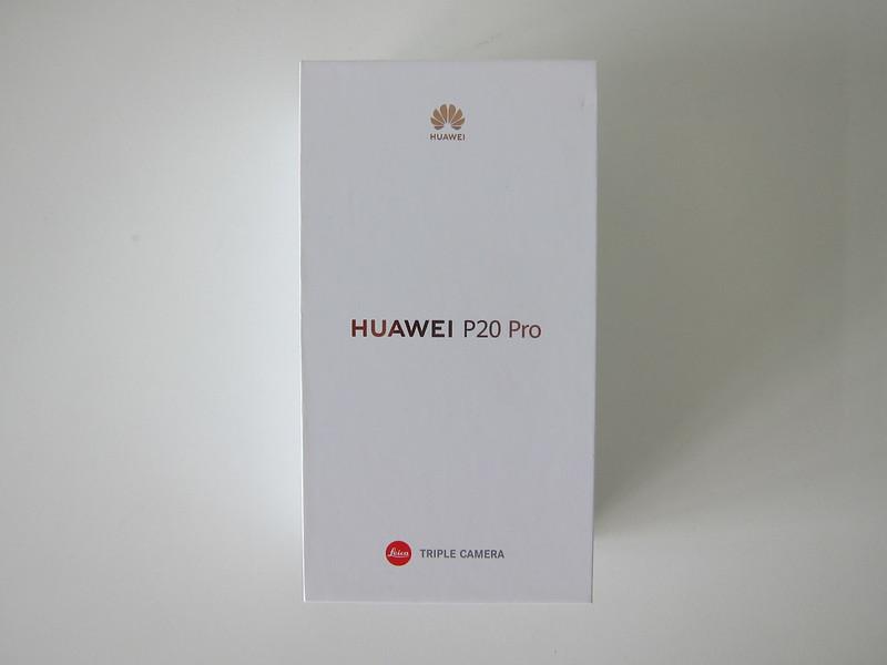 Huawei P20 Pro - Box Front