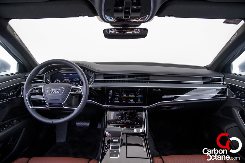 First Drive of the All New 2019 Audi A8 carbonoctane 12