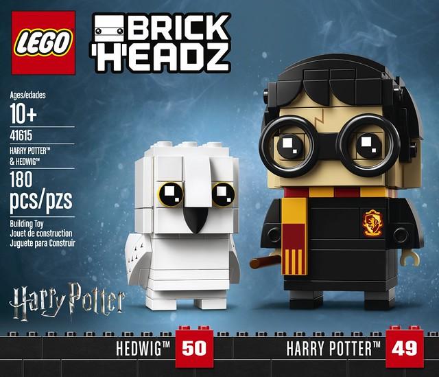 連你們都被施了大頭魔法!!LEGO 41615、41616、41621 BrickHeadz 系列【哈利波特系列角色】Harry Potter Characters