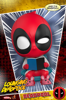 最萌最惡搞的死侍軍團強襲!! Hot Toys - COSB483-486【死侍】Deadpool Cosbaby (S) Bobble-Head Series