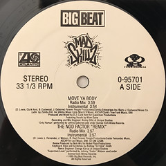 MAD SKILLZ:MOVE YA BODY(LABEL SIDE-A)