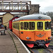 SJ Swedish Railways Class Y7 diesel railcar No. 1212 at Wansford, Nene Valley Railway on 14 April 2018