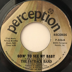 THE FATBACK BAND:STREET DANCE(LABEL SIDE-B)