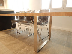 estructura acero mesa adosada