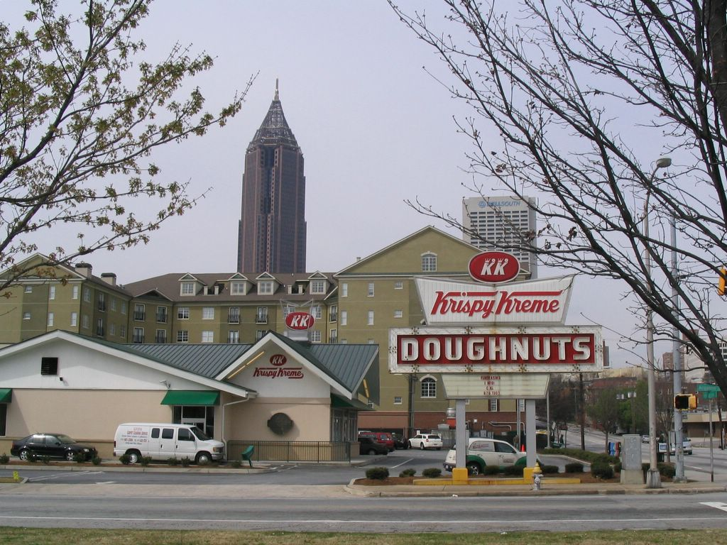 Vernon Rudolph started the Krispy Kreme on July 13 in Winston-Salem, North Carolina after he bought a secret yeast-raised donut recipe from a New Orleans French chef.