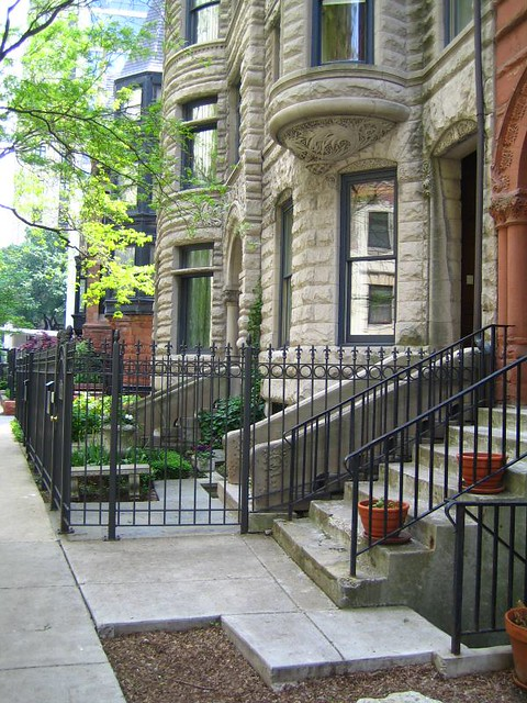 Chicago brownstones flickr photo sharing for Brownstone home designs