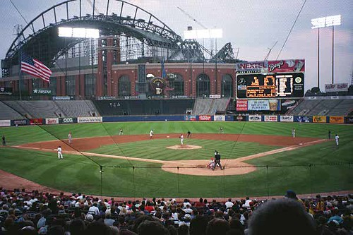 Milwaukee County Stadium | Flickr - Photo Sharing!
