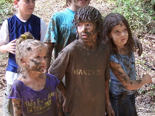 Muddy Kids by paynehollow