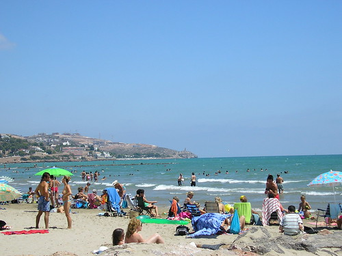 Beach at Benicassim Spain
