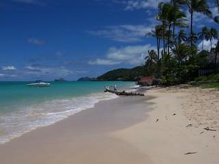 Image of Lanikai Beach. beach hawaii oahu lanikai