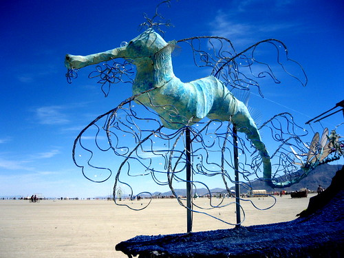 Sea Dragon Art Car