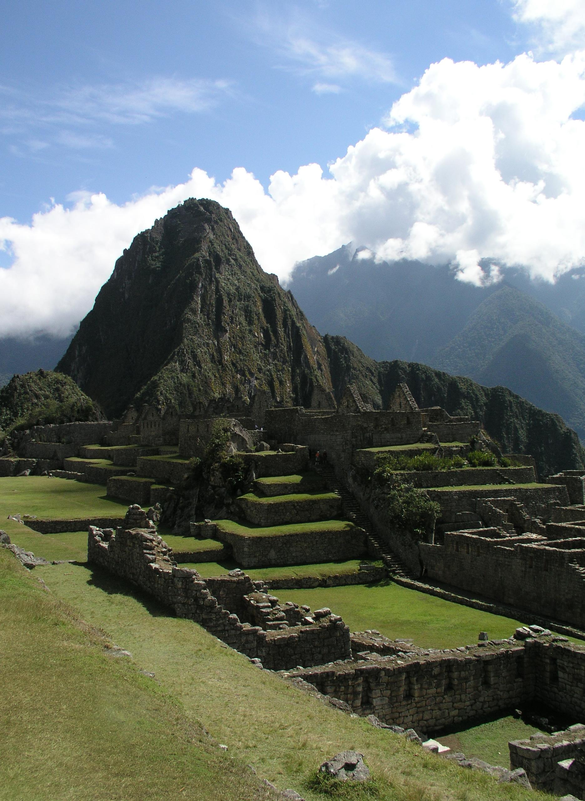 Machu Picchu by day