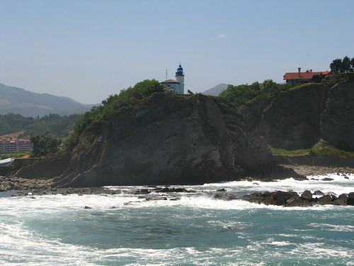lighthouse/Faro of Zumaia