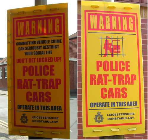 Police Rat-Trap Cars