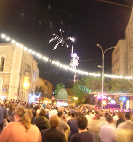 Independence day in jerusalem