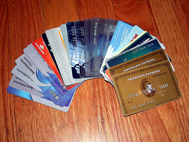 My Credit Card Collection