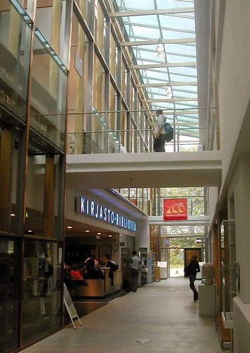 finland interior library vaasa vasa citylibrary ostrobothnia