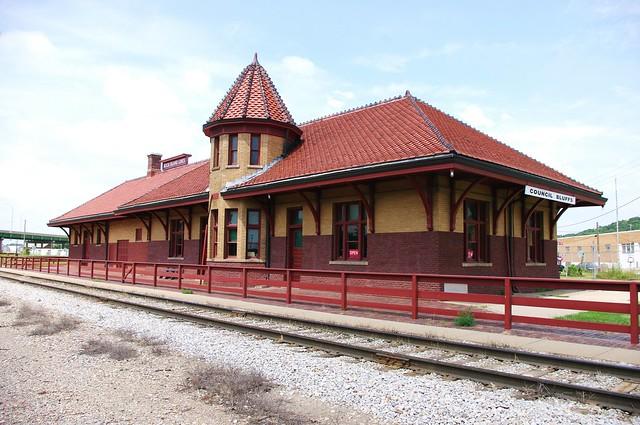 Rock Island Train Station Des Moines
