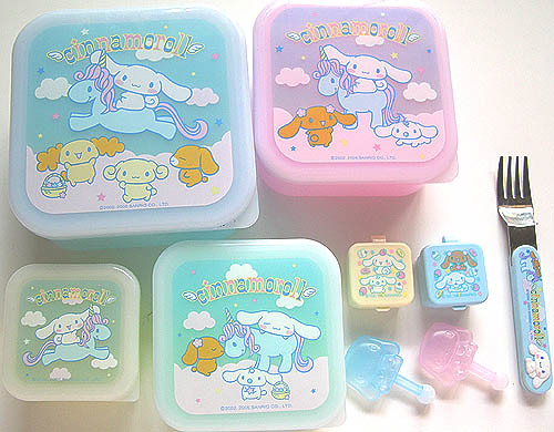 Cinnamoroll unicorn bento set Unicorn design nesting bento boxes