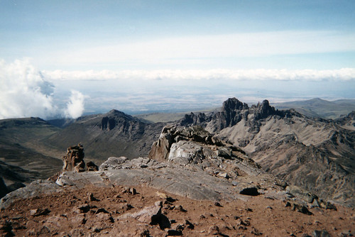 Ethipia from Mt. Kenya