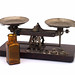 Vintage Kodak Studio Scales Set and Bottle