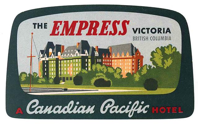 empress victoria british columbia canada