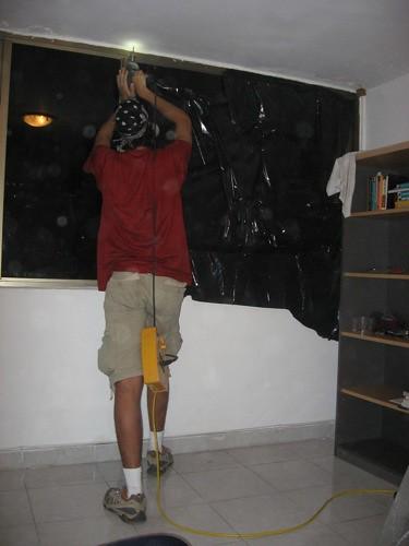 Blinds Installation