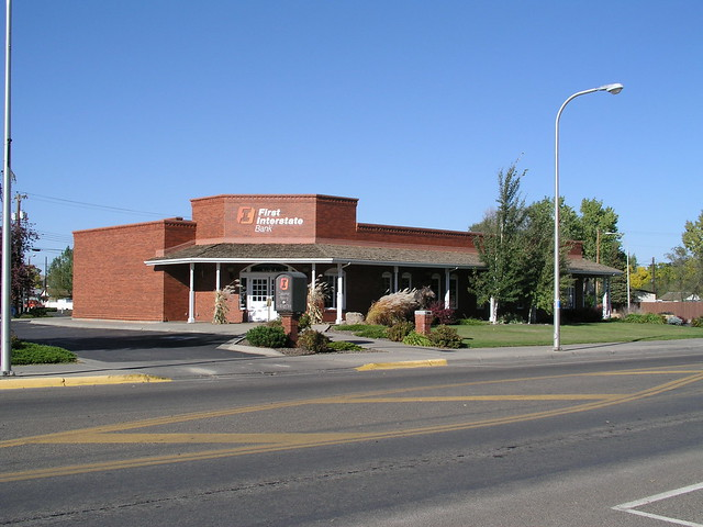 Miles City (MT) United States  City pictures : First Interstate Bank, Miles City | First Interstate Bank, 1 ...
