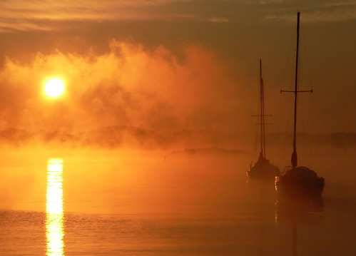 misty fog sailboat sunrise river boats maryland annapolis coolest southriver abigfave topofthefog