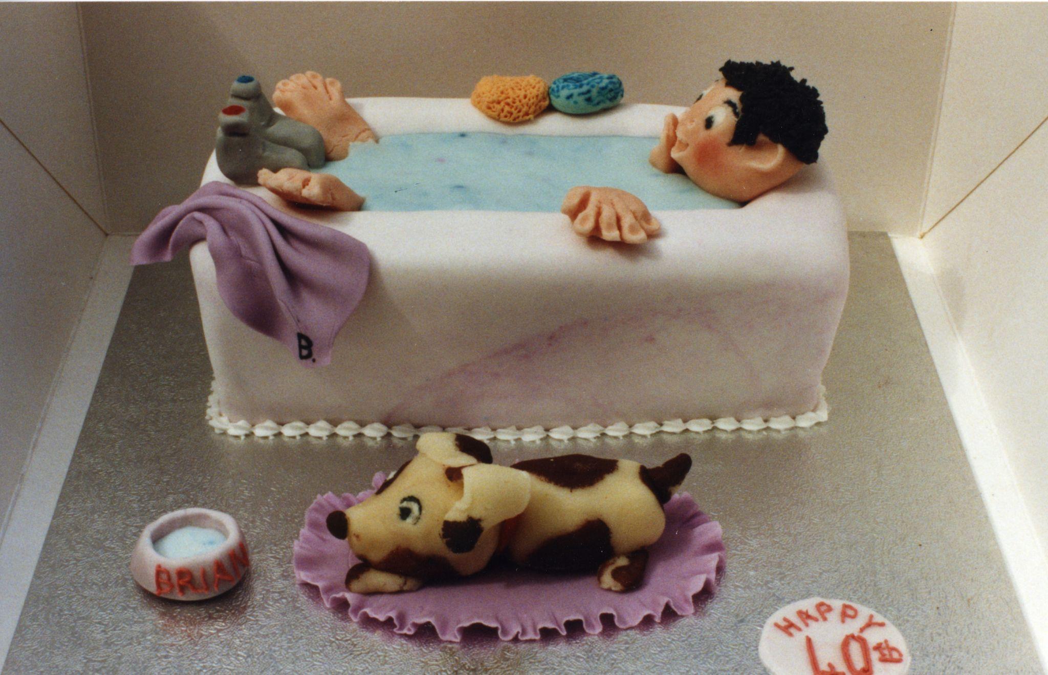 Bubble Puppy Cake Topper