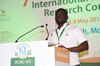 Sun, 05/06/2018 - 17:55 - Kouadio Nasser Yao, ILRI, presenting demand led breeding strategies.
