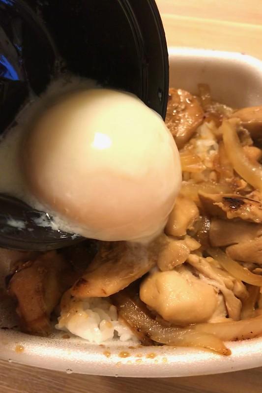 吉野家の鶏すき丼をテイクアウト