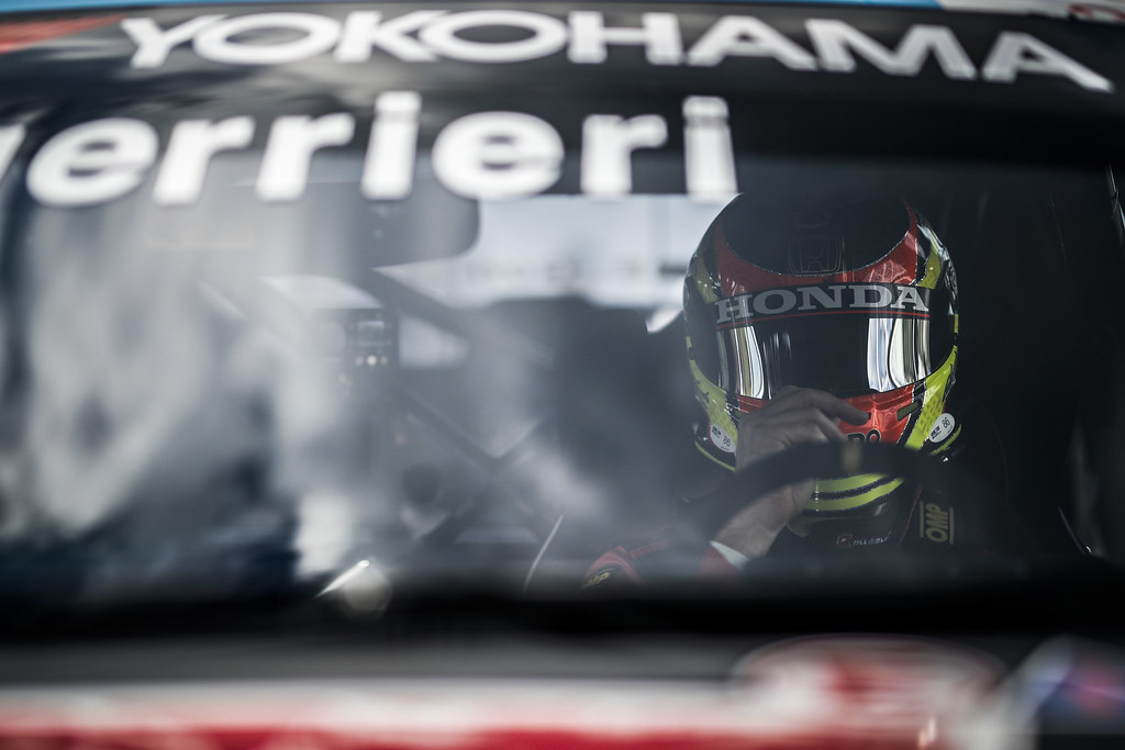 GUERRIERI Esteban (ARG), ALL-INKL.COM Munnich Motorsport, Honda Civic  TCR, portrait during the 2018 FIA WTCR World Touring Car cup of Nurburgring, Nordschleife, Germany from May 10 to 12 - Photo Clement Marin / DPPI