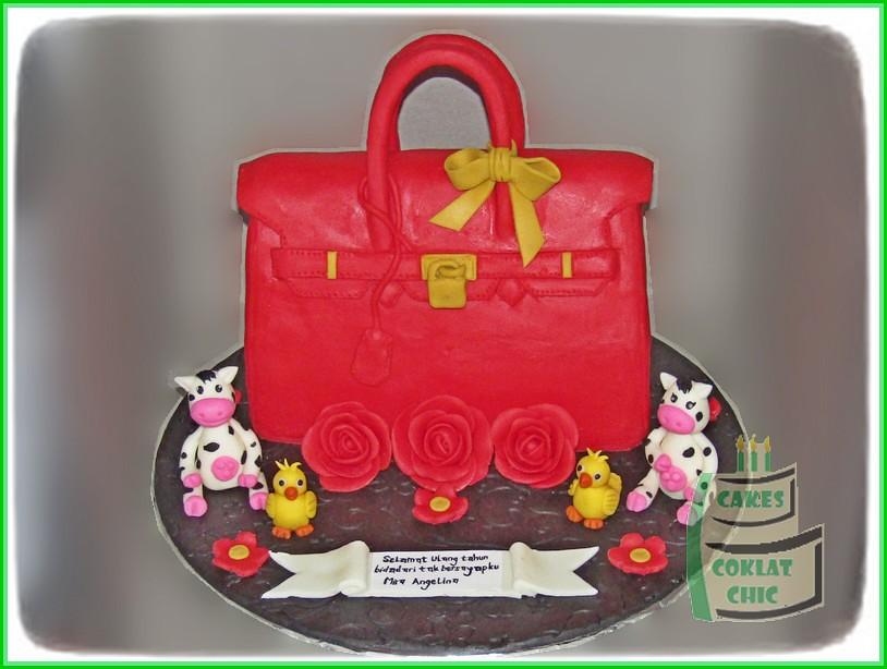 Cake Branded Bag MISS ANGELINE 15 cm