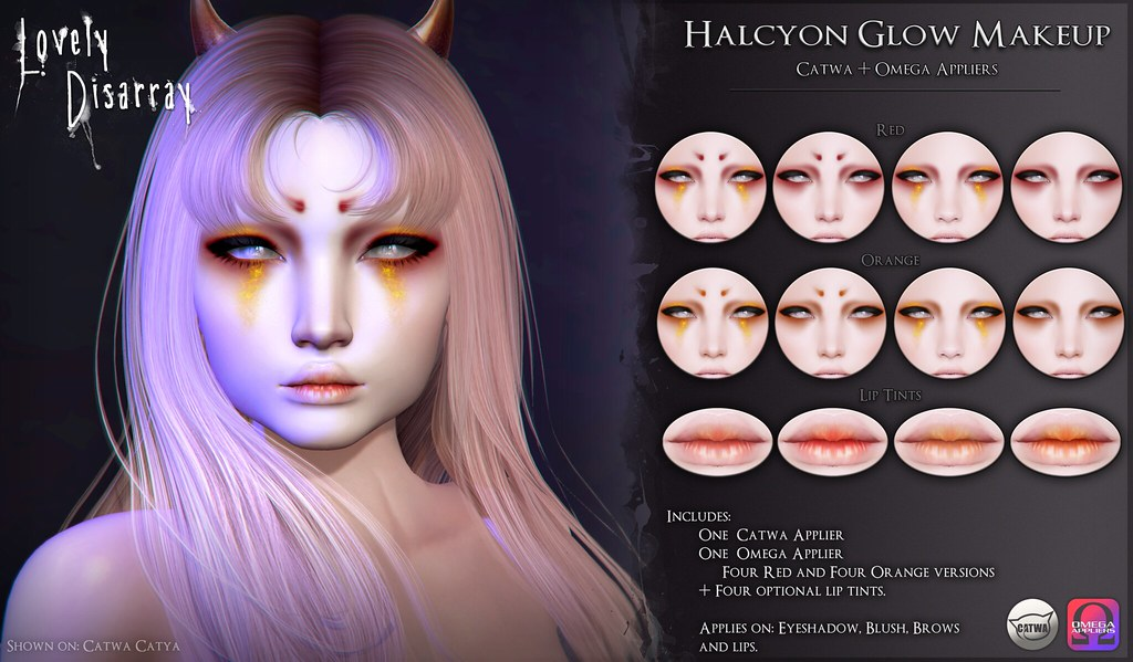 Halcyon Glow Makeup Set @ Whimsical.