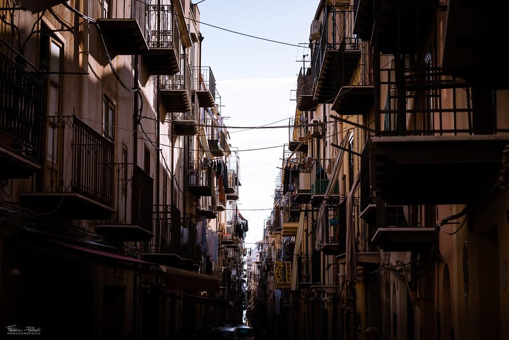 Les rues de Céfalù