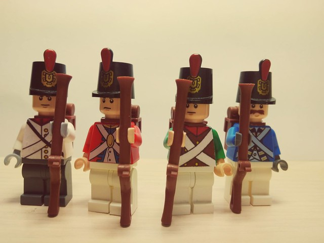 the soldiers of Napoleonic Wars