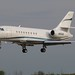 N5200 Dassault Falcon 2000 at KCLE by GeorgeM757