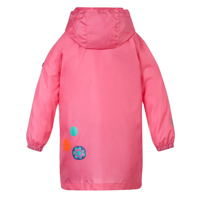 SquidKids_Rainjacket_Back_Polkadot_Dry