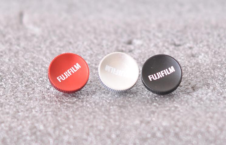 01 Nút bấm nhôm chữ Fujifilm cho máy ảnh Fujifilm X-Series Fujifilm XT-10 XT-20