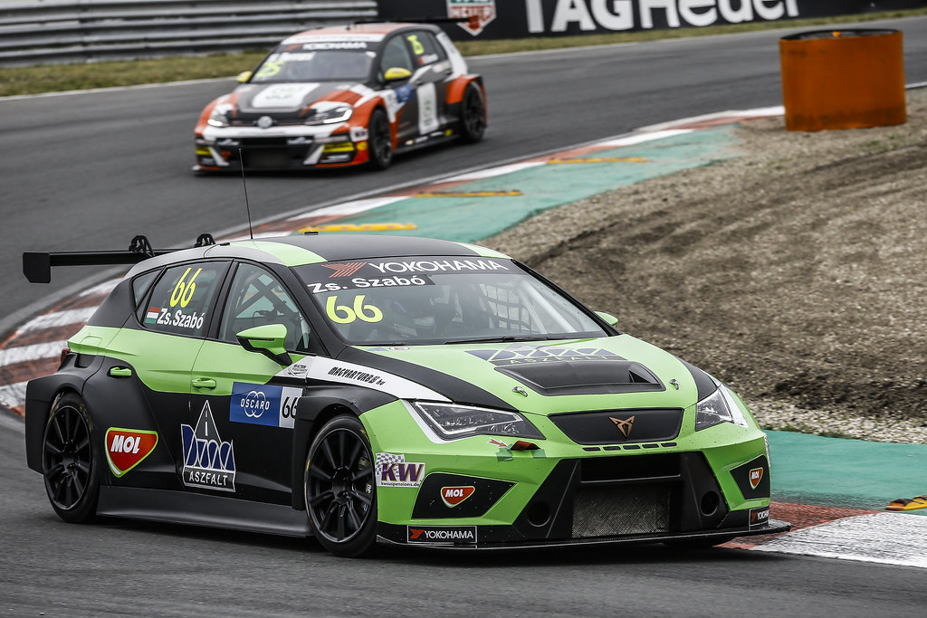 66 ZSABO Zsolt David, (hun), Seat Cupra TCR team Zengo Motorsport, action during the 2018 FIA WTCR World Touring Car cup of Zandvoort, Netherlands from May 19 to 21 - Photo Jean Michel Le Meur / DPPI