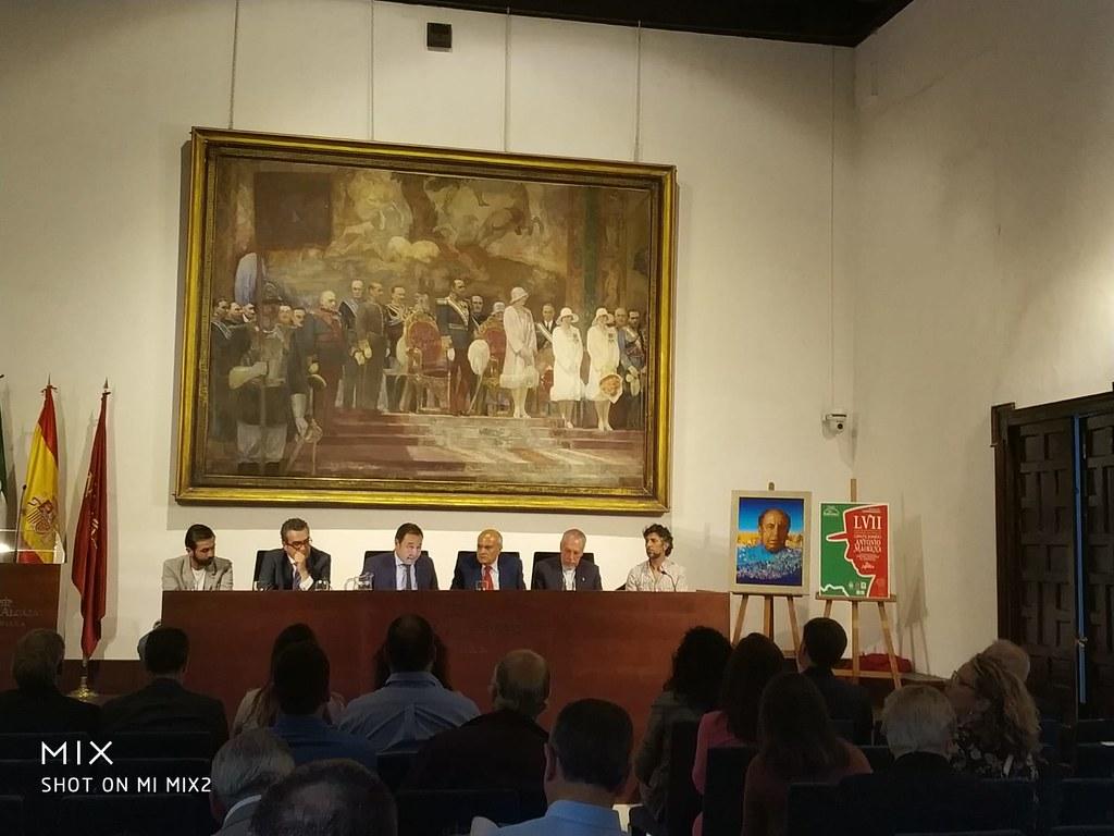 PRESENTACIÓN LVII FESTIVAL DE CANTE JONDO ANTONIO MAIRENA