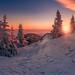 Winterlandschaft by Friedrich Beren