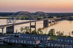 Hernando de Soto Bridge | Mississippi River | Memphis, Tennessee