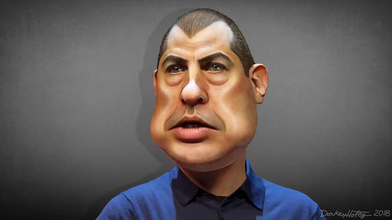 Andreas Antonopoulos - Caricature