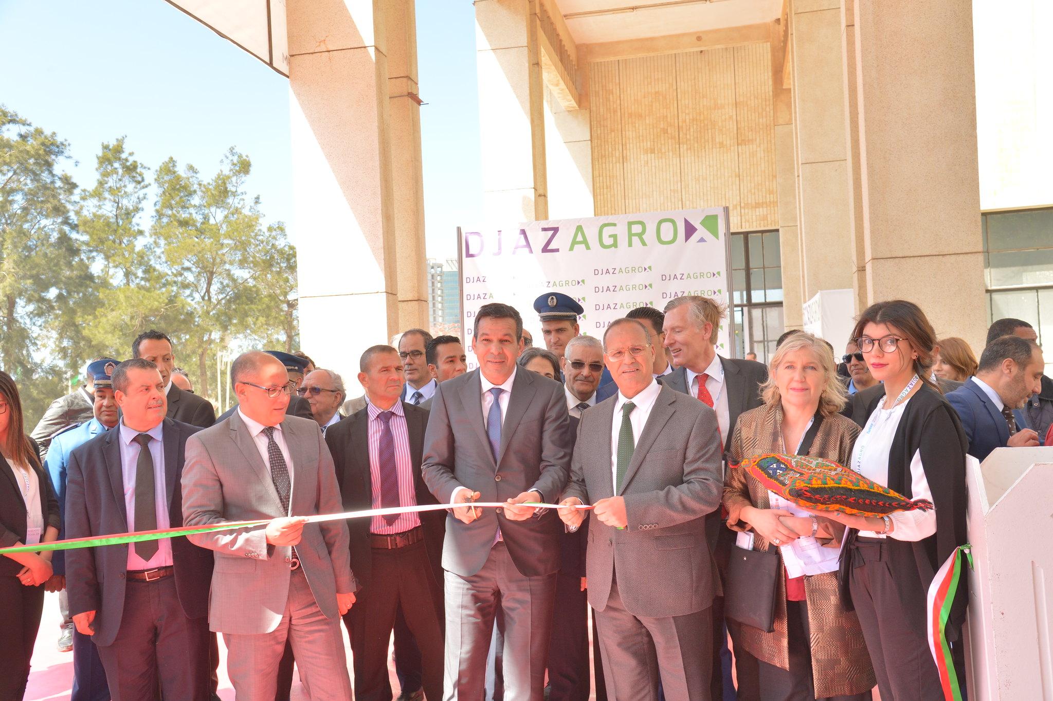 DJAZAGRO 2018 - Visites officielles des Ministres