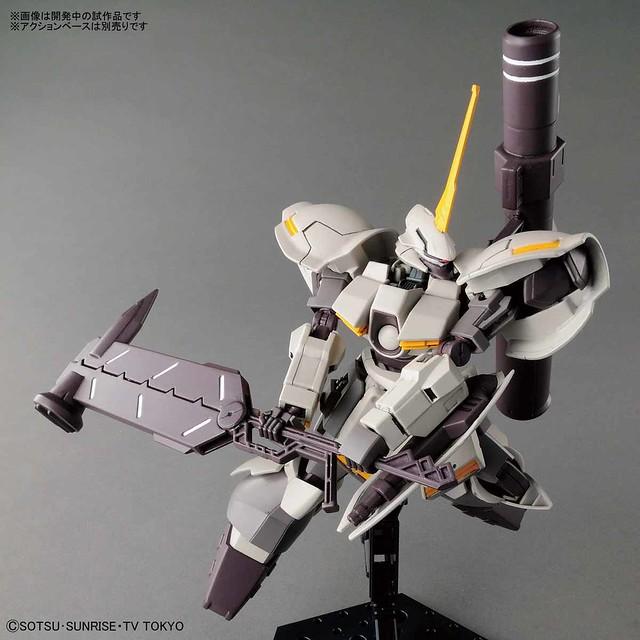 超重型力量特化機!HGBD 1/144《鋼彈創鬥者 潛網大戰》 重鍛型卡爾巴迪(ガルバルディリベイク)