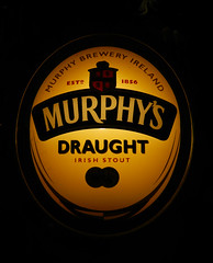 Murphy's Draught Tap in Sneem, Ireland