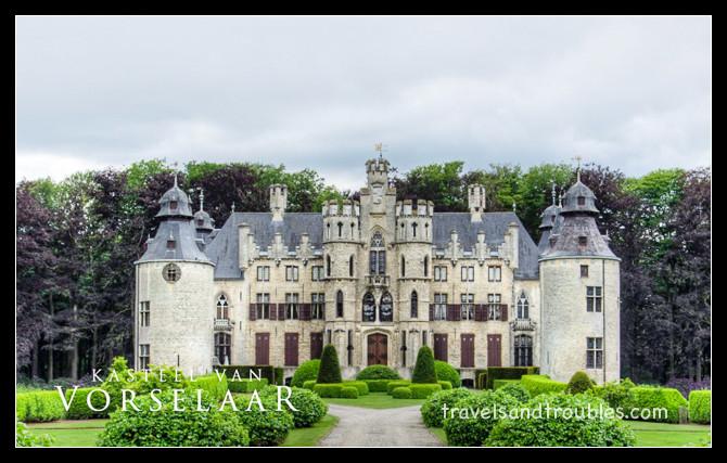 het kasteel van Vorselaar